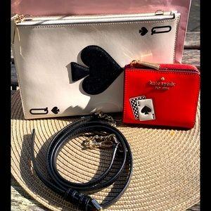 🎀 New Kate Spade ♠️ Crossbody Bag plus Wallet